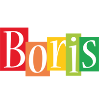 Boris colors logo