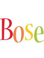 Bose birthday logo