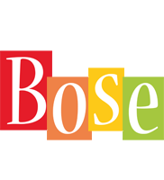 Bose colors logo