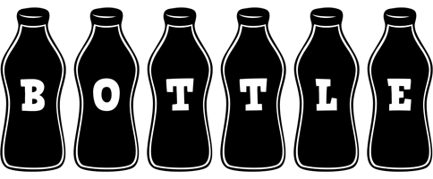 BOTTLE logo effect. Colorful text effects in various flavors. Customize your own text here: http://www.textGiraffe.com/logos/bottle/