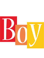 Boy colors logo