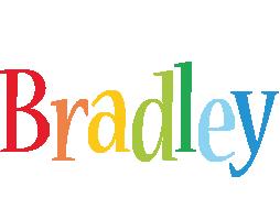 Bradley birthday logo