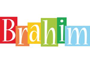 Brahim colors logo