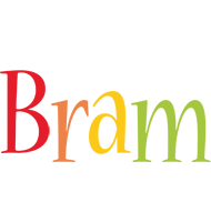 Bram birthday logo