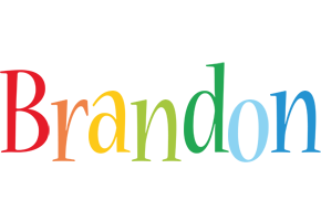 Brandon birthday logo