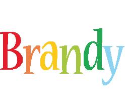 Brandy birthday logo