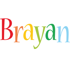 Brayan birthday logo