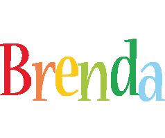 Brenda birthday logo