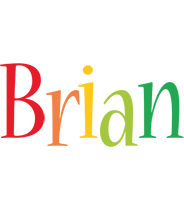 Brian birthday logo