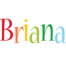 Briana birthday logo