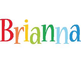 Brianna birthday logo