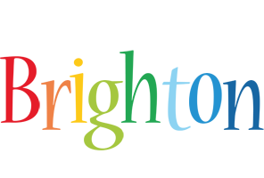 Brighton birthday logo