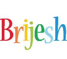 Brijesh birthday logo