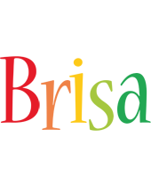 Brisa birthday logo