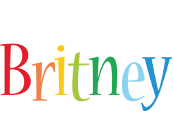 Britney birthday logo