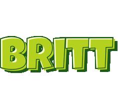 Britt summer logo