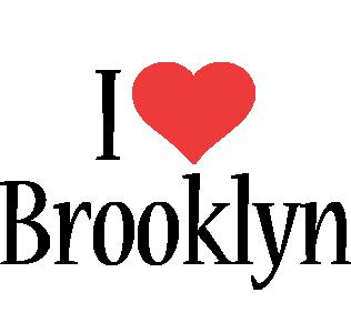 Brooklyn Name brooklyn logo name logo generator - i love, love heart ...