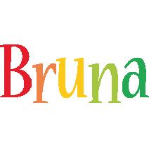 Bruna birthday logo