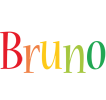 Bruno birthday logo