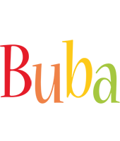 Buba birthday logo