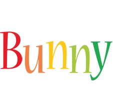 Bunny birthday logo