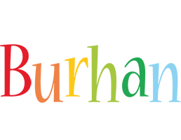 Burhan birthday logo
