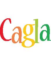 Cagla birthday logo