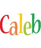 Caleb birthday logo