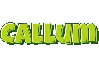 Callum summer logo
