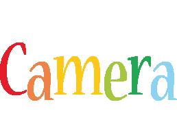Camera birthday logo