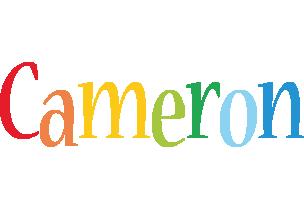 Cameron birthday logo