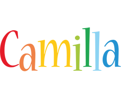 Camilla birthday logo