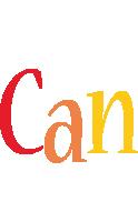 Can birthday logo