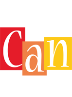 Can colors logo