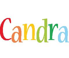 Candra birthday logo