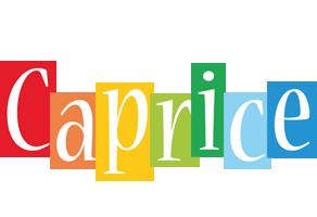 Caprice colors logo