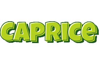 Caprice summer logo