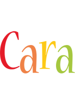 Cara birthday logo