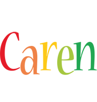 Caren birthday logo