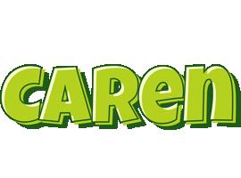 Caren summer logo