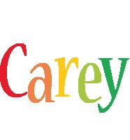 Carey birthday logo