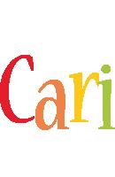 Cari birthday logo