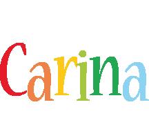 Carina birthday logo