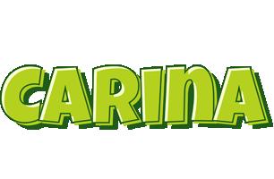 Carina summer logo