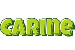 Carine summer logo