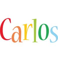 Carlos birthday logo