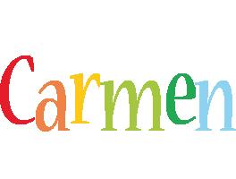 Carmen birthday logo