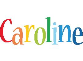 Caroline birthday logo