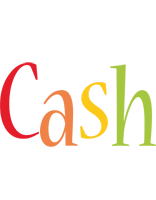 Cash birthday logo