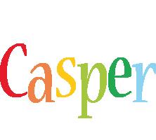 Casper birthday logo